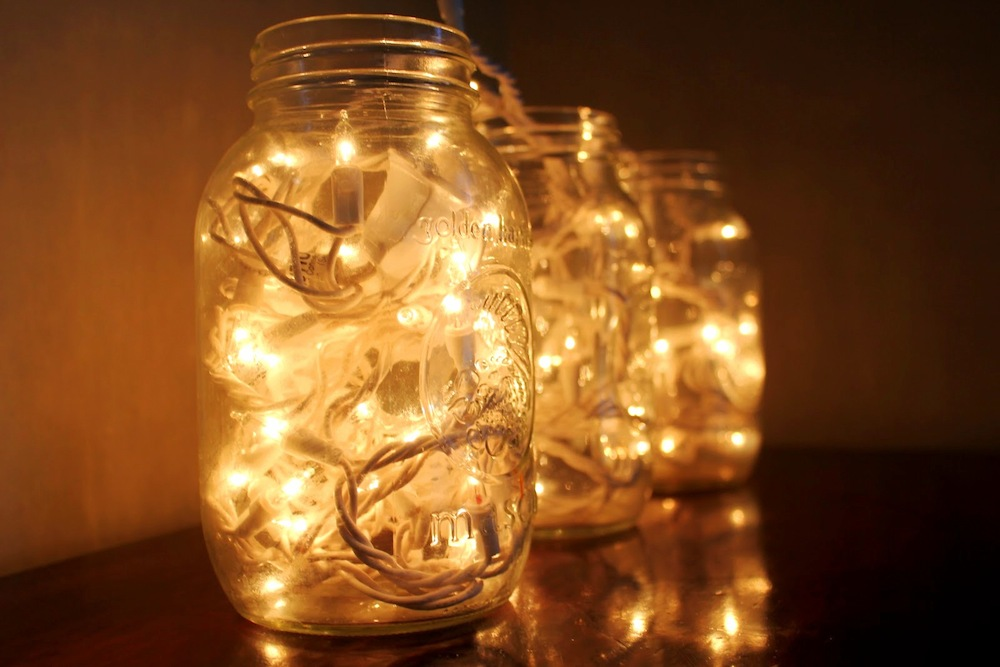 Home Tips: Fairy Lights in a jar (4)