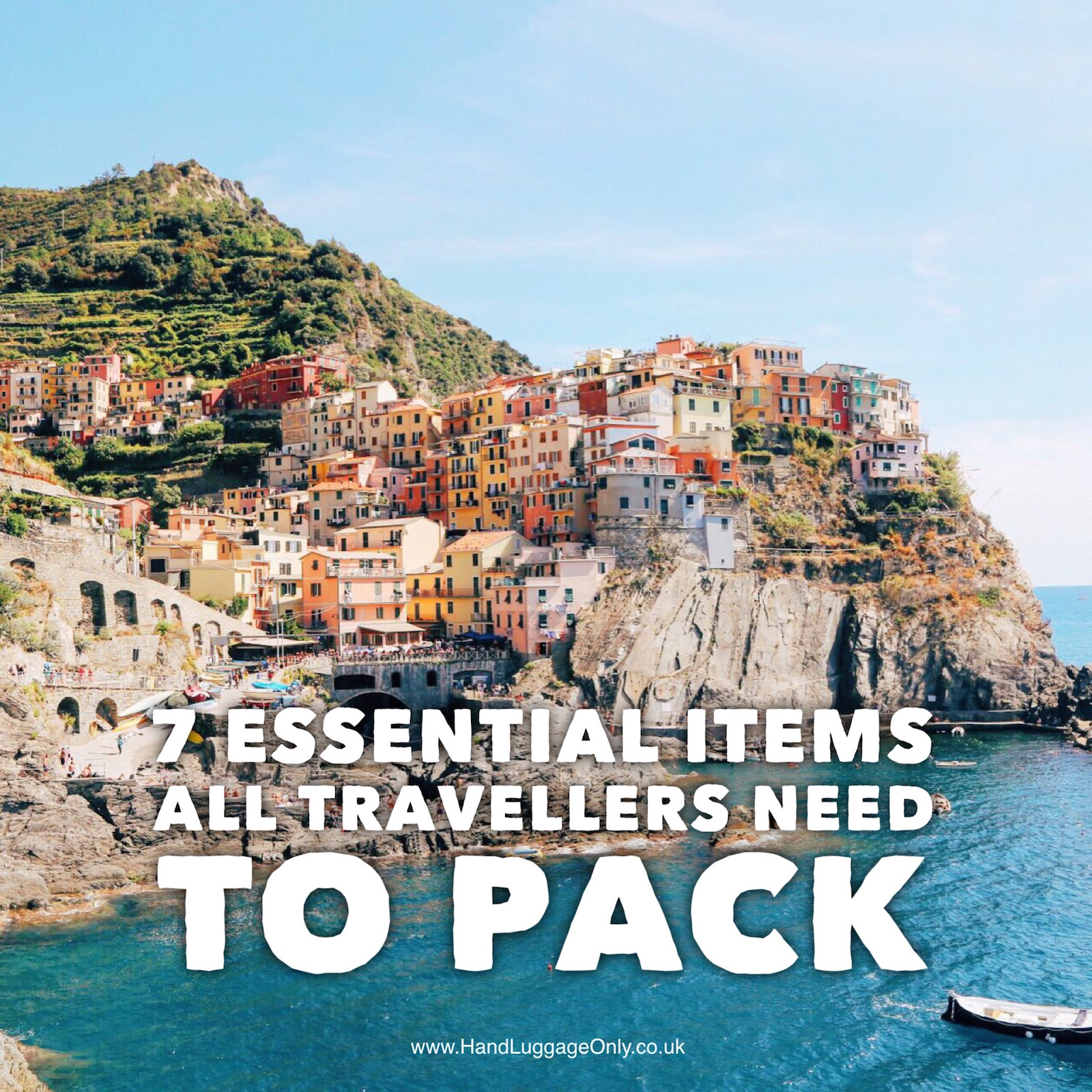 7 essential items all holiday makers and travellers should always pack