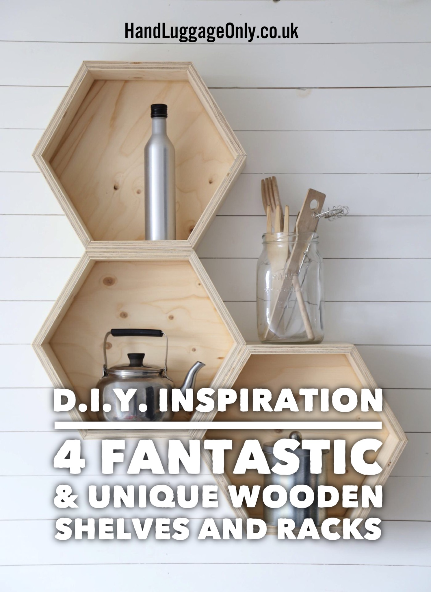 Home Tips: DIY Ladder Shelf
