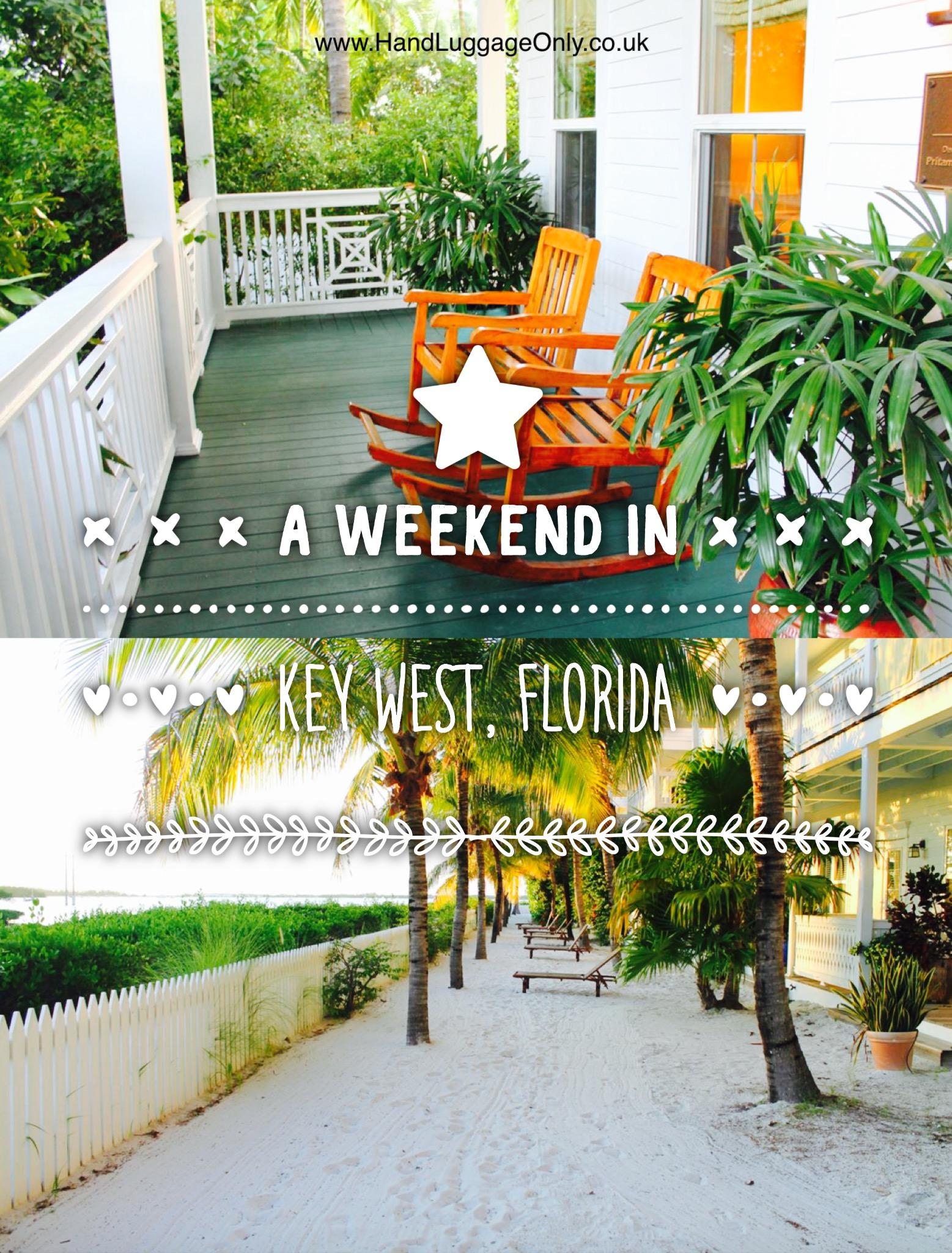 Arrival in Key West!
