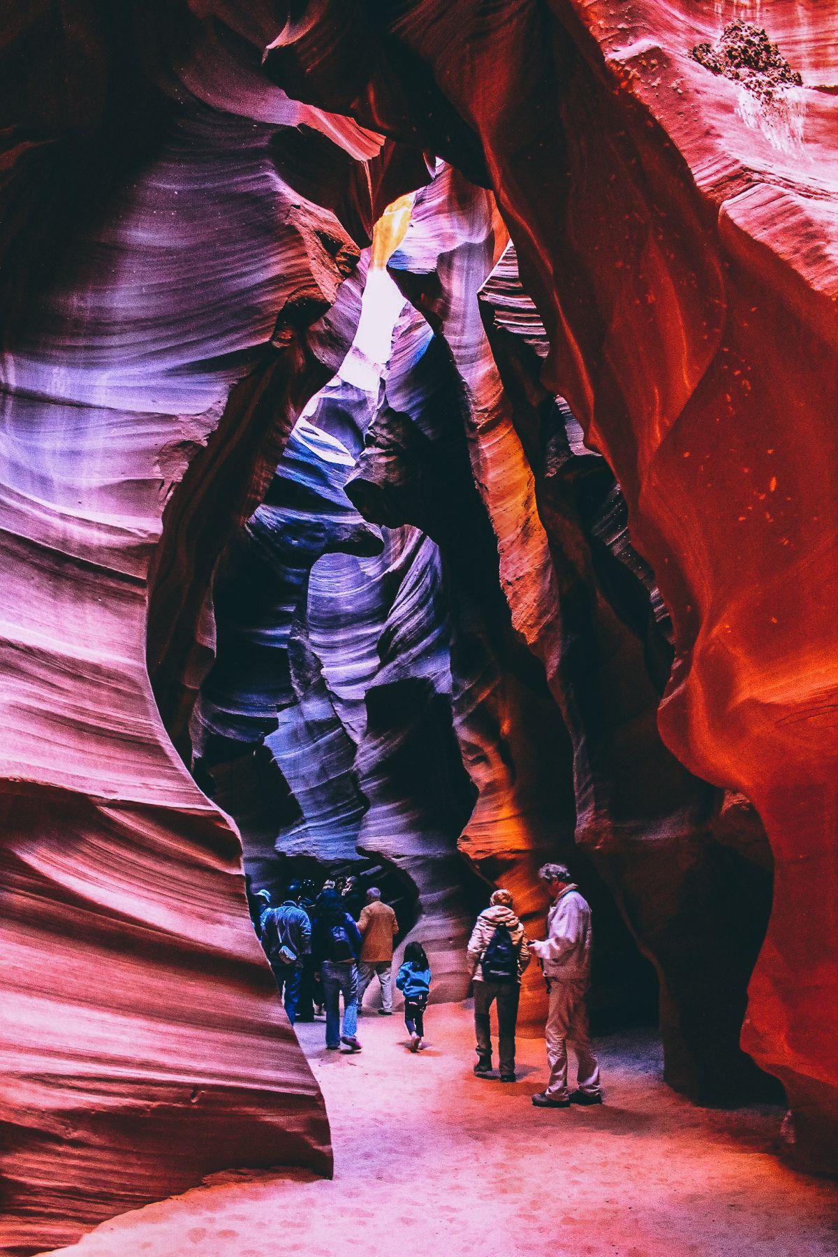 Gallopping through Antelope Canyon in Arizona, USA (5)