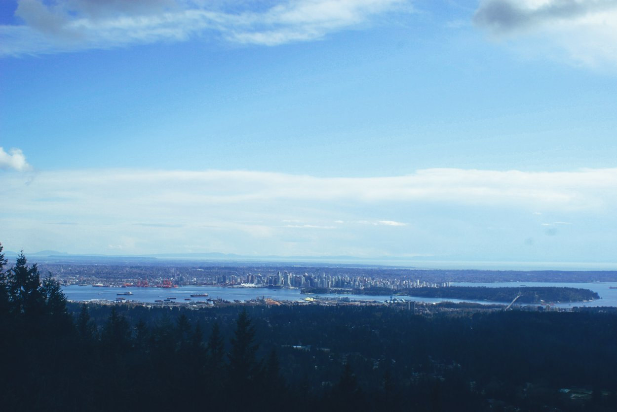 Up on Grouse Mountain... Vancouver, Canada (1)