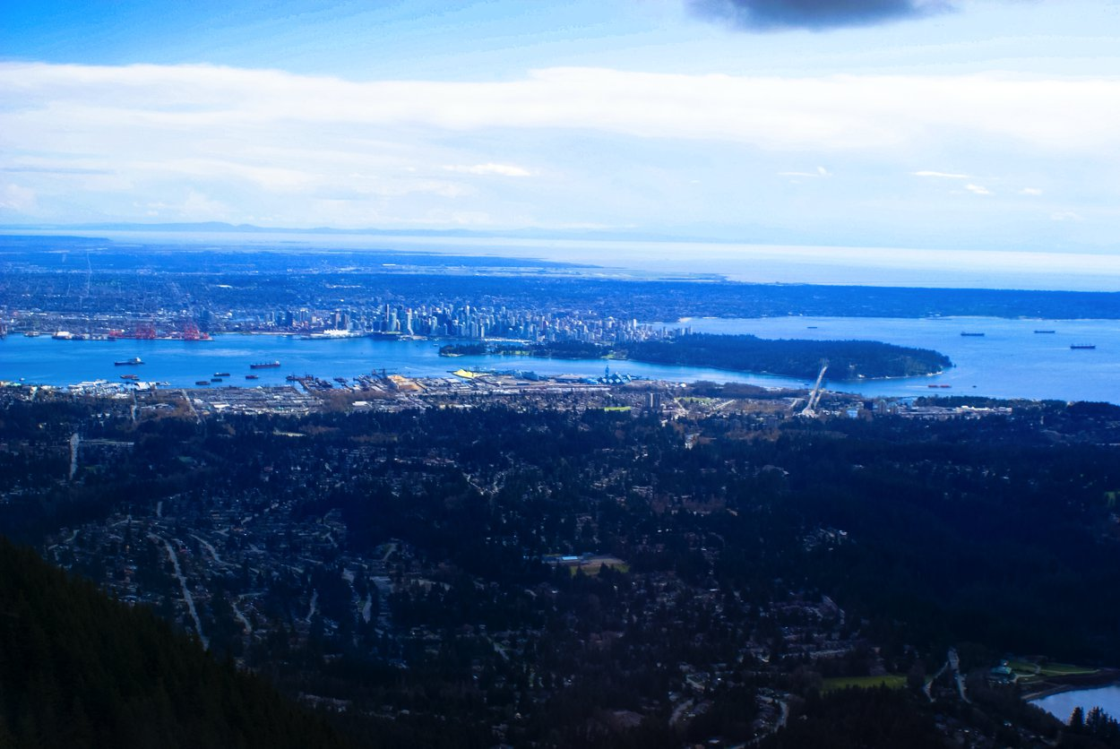 Up on Grouse Mountain... Vancouver, Canada (3)