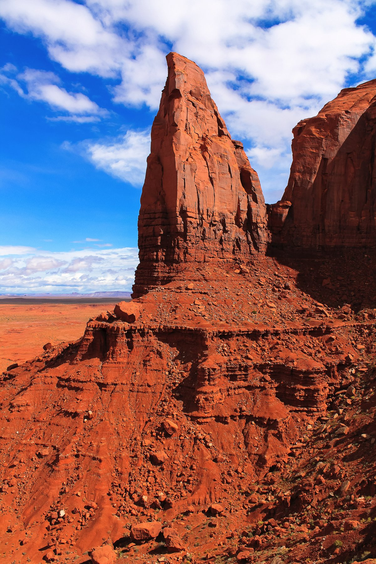 Monument Valley - Zipping back and forth between Utah and Arizona! (11)