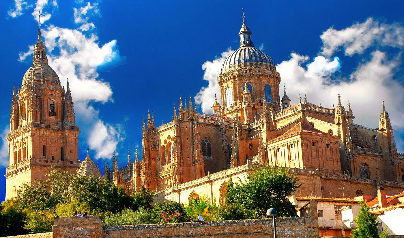 Seville-spain1.jpg Alhambra_at_dusk_Granada_Spain.jpg Catedral_Salamanca_A&I.jpg Spain.Santiago.de.Compostela.Obradoiro.jpg Toledo_Skyline_Panorama,_Spain_-_Dec_2006.jpg Mosque_Cordoba.jpg Catedral_valencia.jpg Madrid Palacio_de_Comunicaciones_-_07.jpg Barcelona.jpg (3)