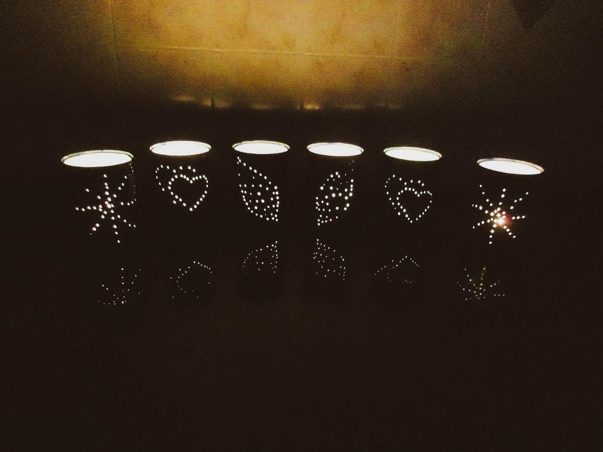 Weekend DIY Lighting Tips: Tin Can Lanterns (1)