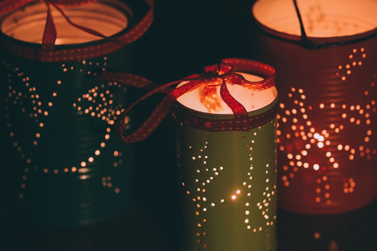 Weekend DIY Lighting Tips: Tin Can Lanterns (3)
