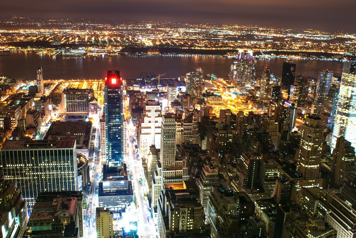 New York! New York!!! Numero Uno - The view from The Empire State Building (1)