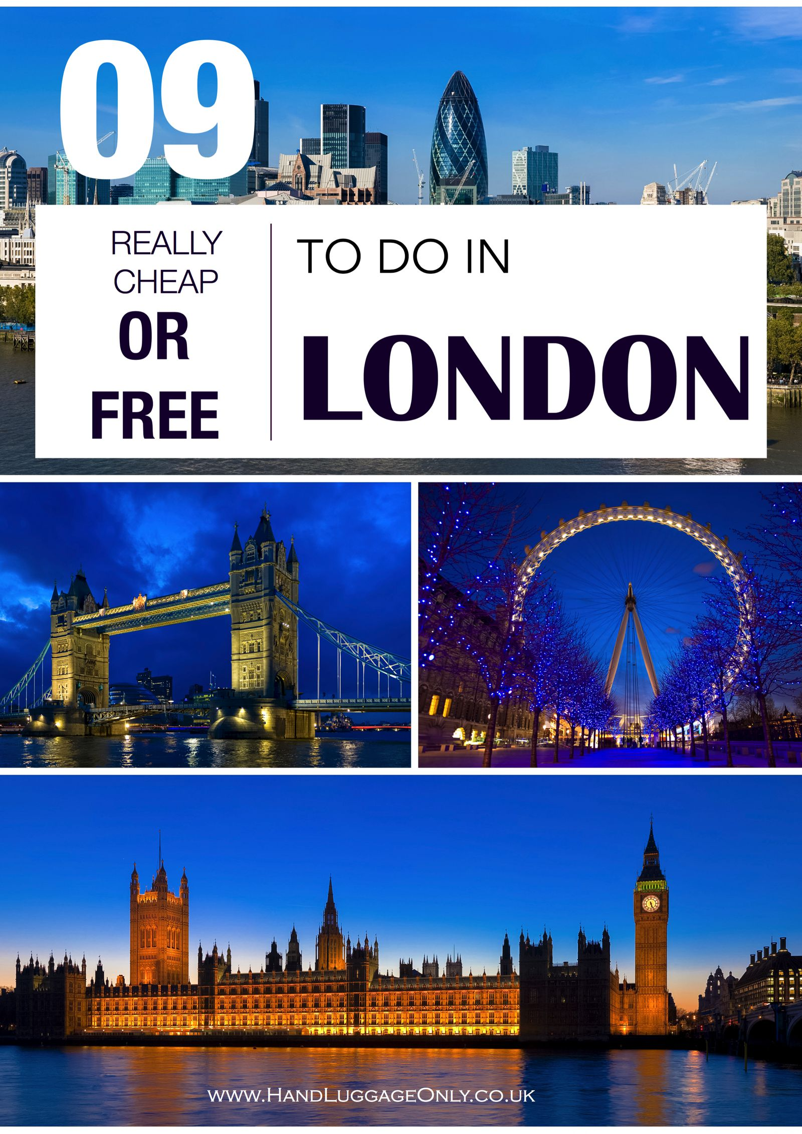 9 Free (or REALLY Cheap) things to do in London! (1)