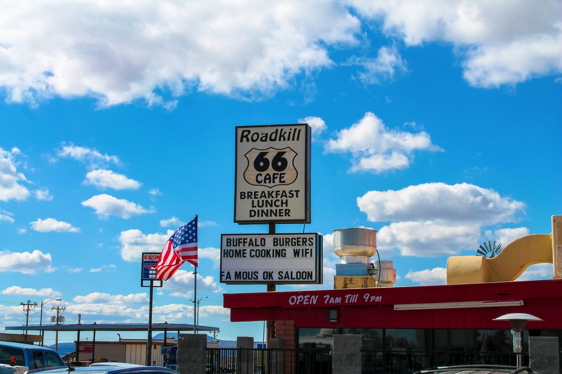 Road Trip USA! The legendary Route 66 and Road Kill Cafe! (3)