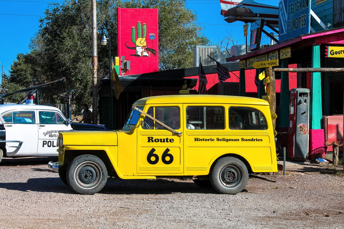 Road Trip USA! The legendary Route 66 and Road Kill Cafe! (8)