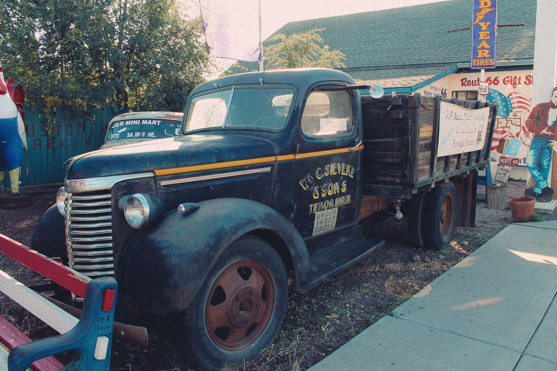 Road Trip USA! The legendary Route 66 and Road Kill Cafe! (21)