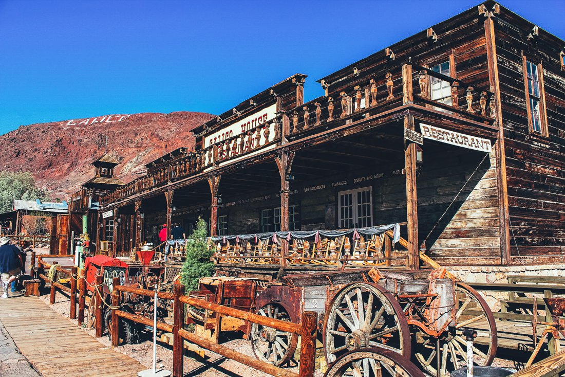 A Trip To The Wild Wild West Visiting Calico Ghost Town