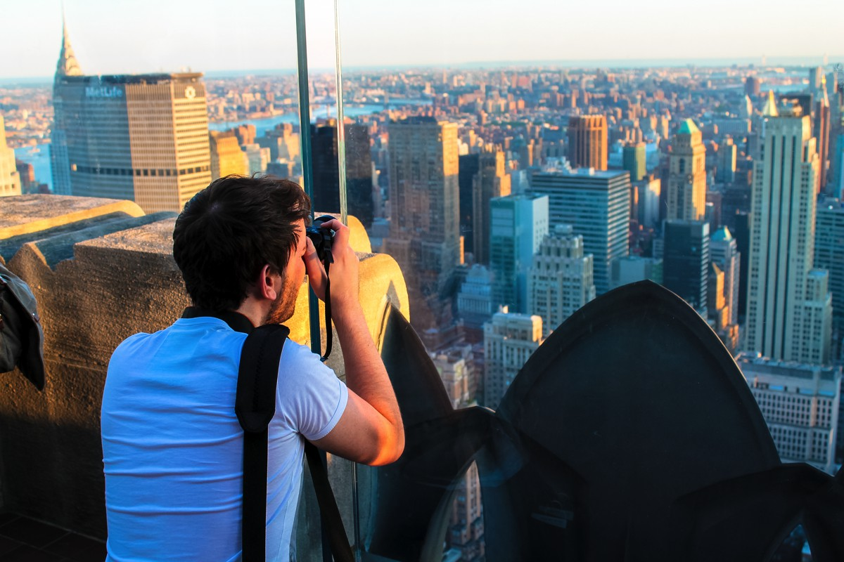 New York! New York!!! Part Deux - The view from TheRockefeller Center (4)