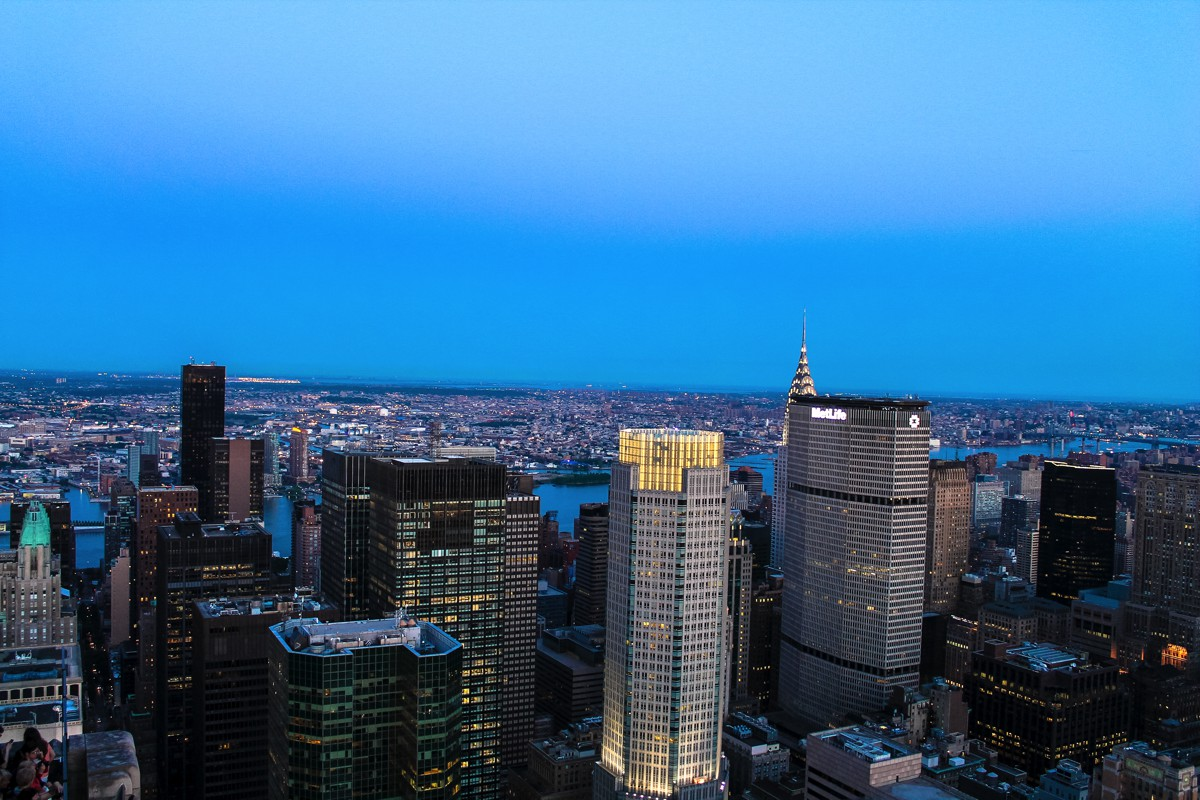 New York! New York!!! Part Deux - The view from TheRockefeller Center (9)