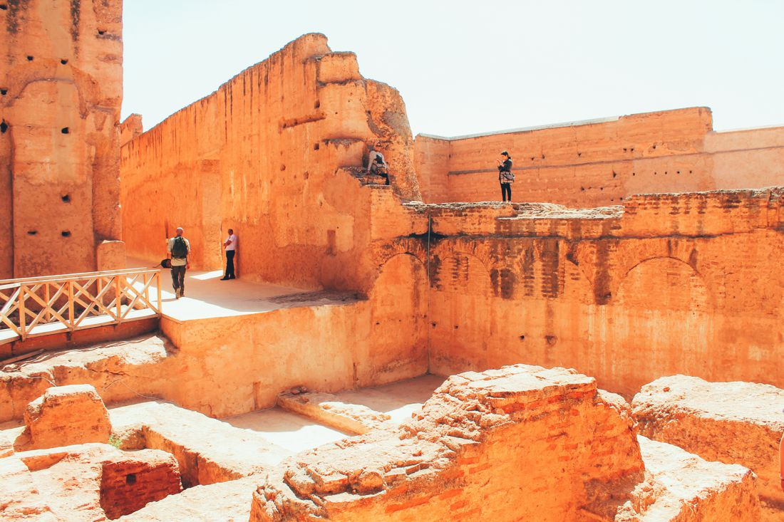 Arabian Adventures - Exploring El Badi Palace Ruins, Morocco (14)