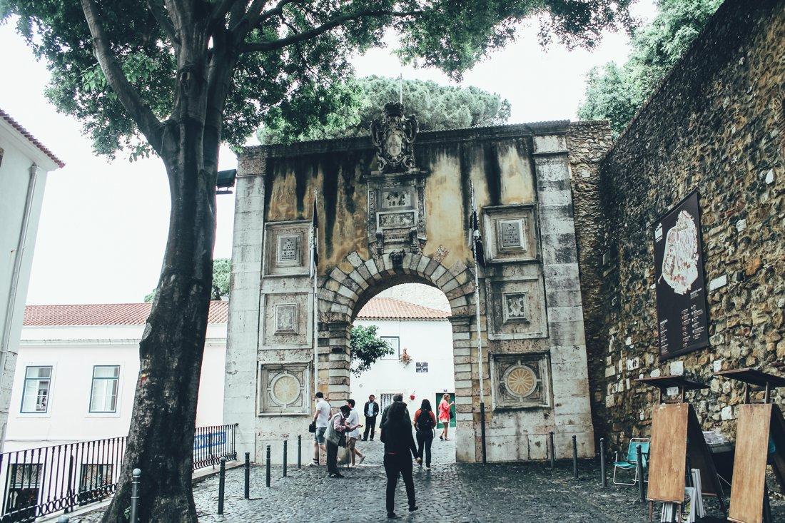 Exploring Lisbon - Castelo de São Jorge (1)