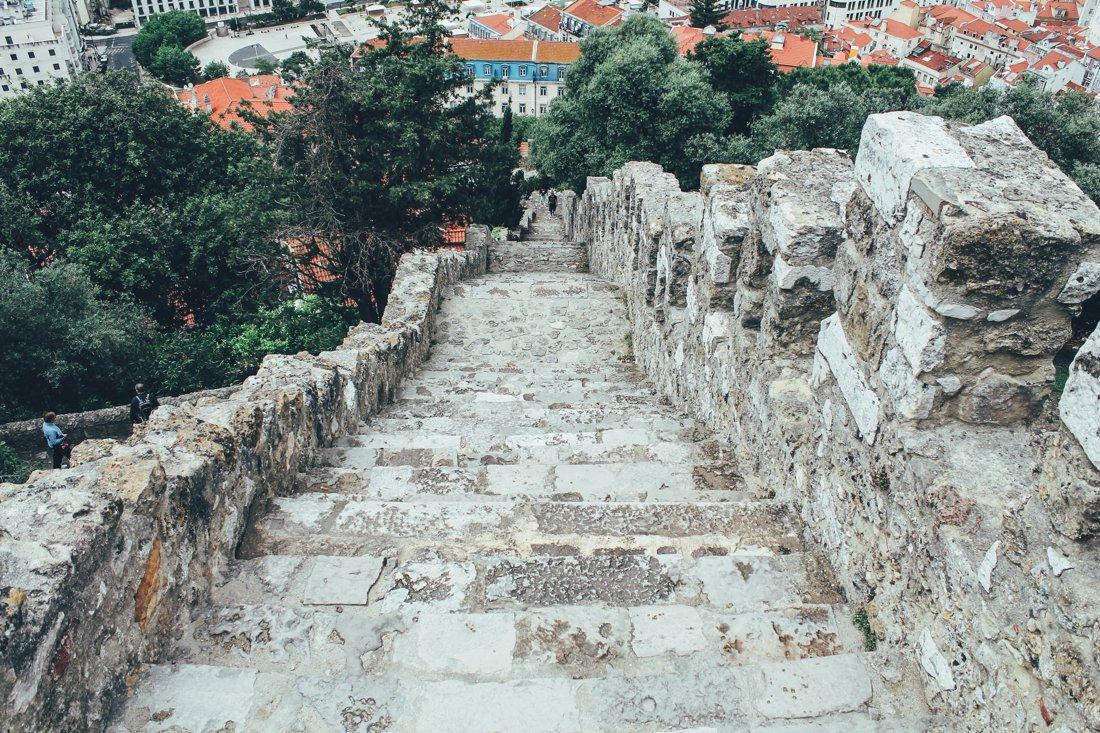 Exploring Lisbon - Castelo de São Jorge (13)