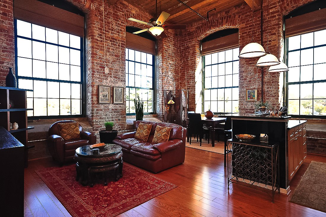 interesting brick loft interior design | 7 Lofts That Will Bring Out The Green-Eyed Monster in You ...