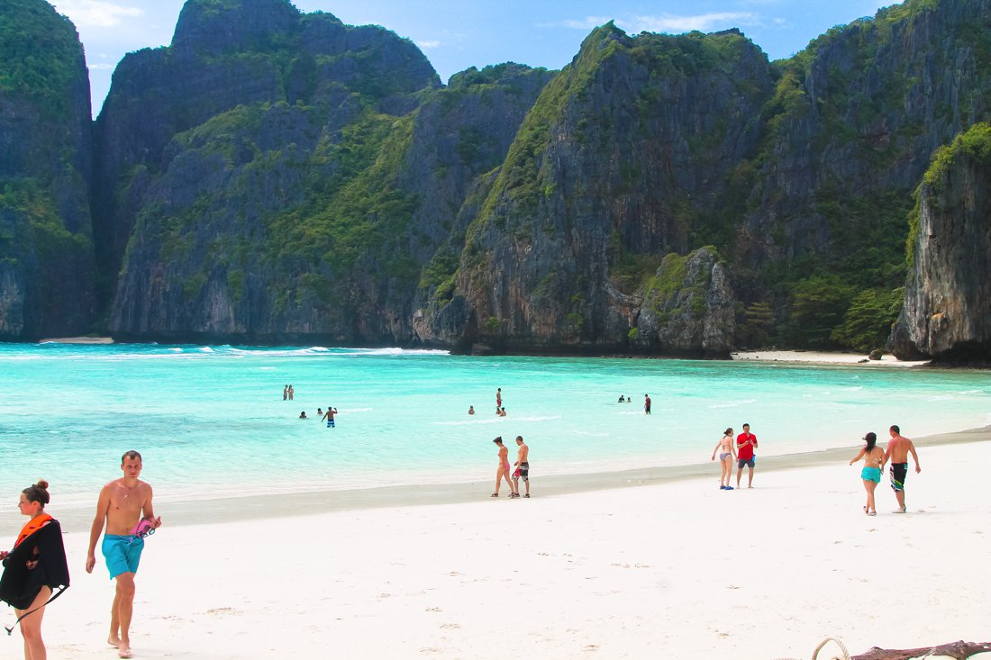 Maya Bay, Phi Phi Island, Thailand on Hand Luggage Only Blog (14)