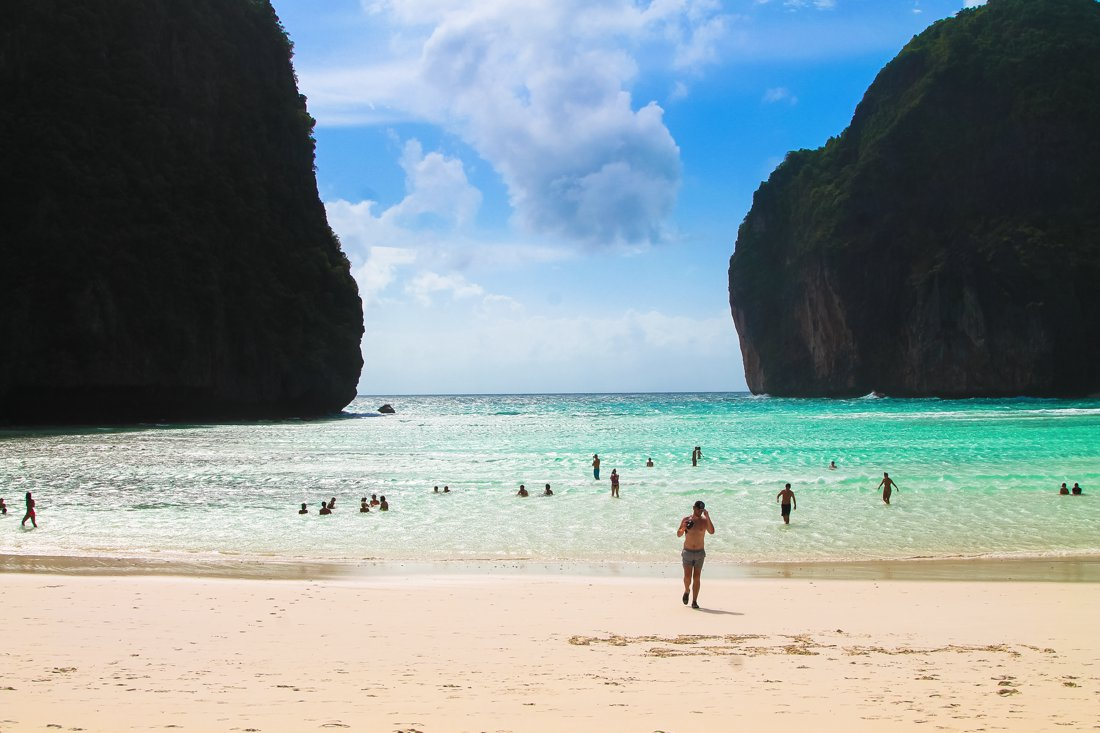 Maya Bay, Phi Phi Island, Thailand on Hand Luggage Only Blog (11)