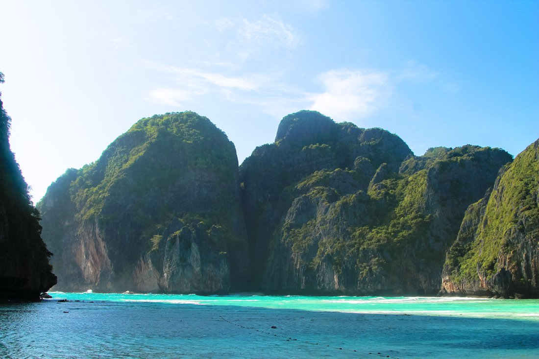 Maya Bay, Phi Phi Island, Thailand on Hand Luggage Only Blog (4)