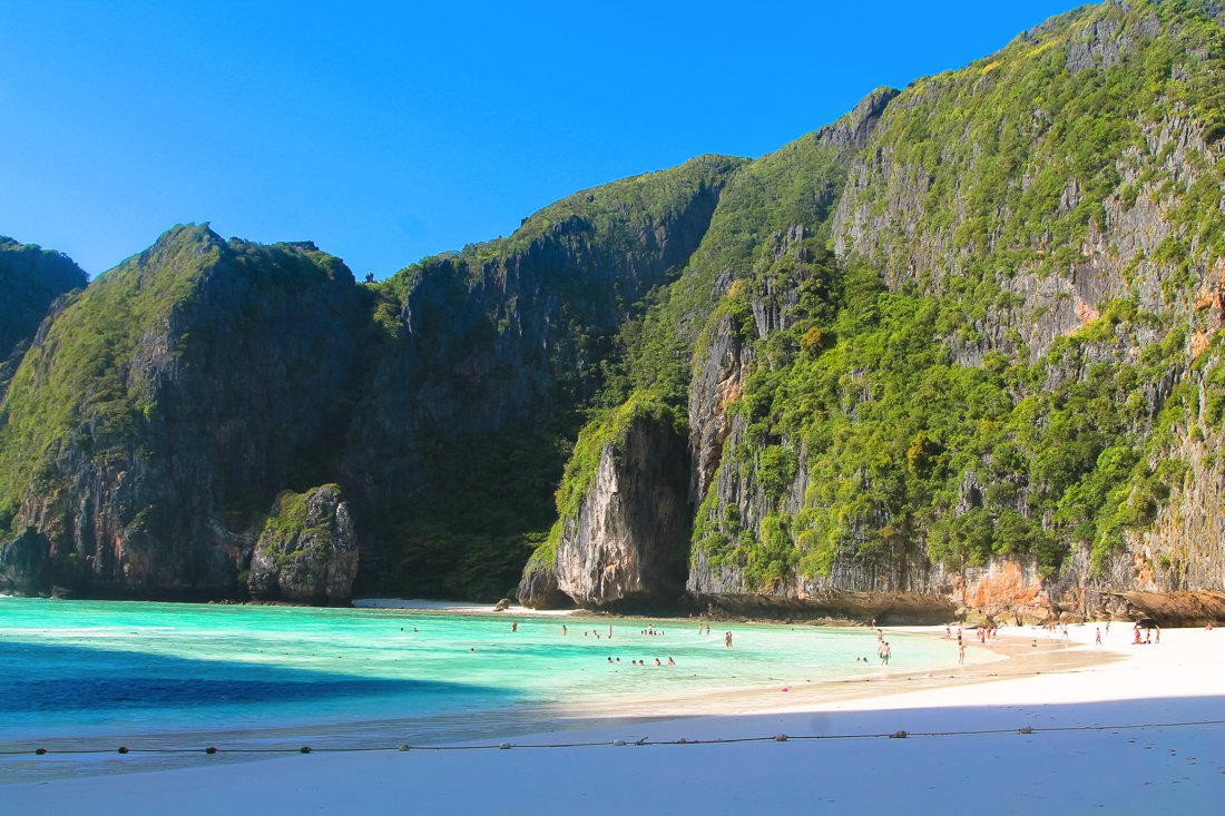 Maya Bay, Phi Phi Island, Thailand on Hand Luggage Only Blog (3)