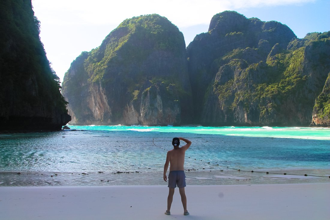 Maya Bay, Phi Phi Island, Thailand on Hand Luggage Only Blog (2)