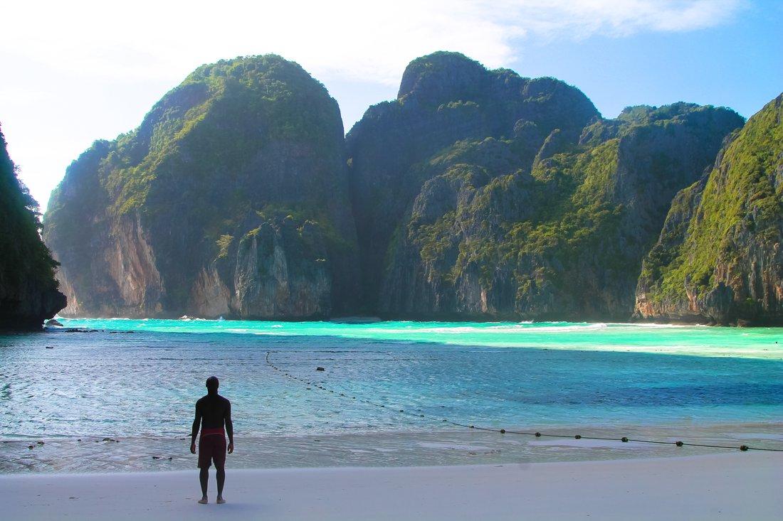 Maya Bay Phi Island Thailand On Hand Luggage Only Blog 1