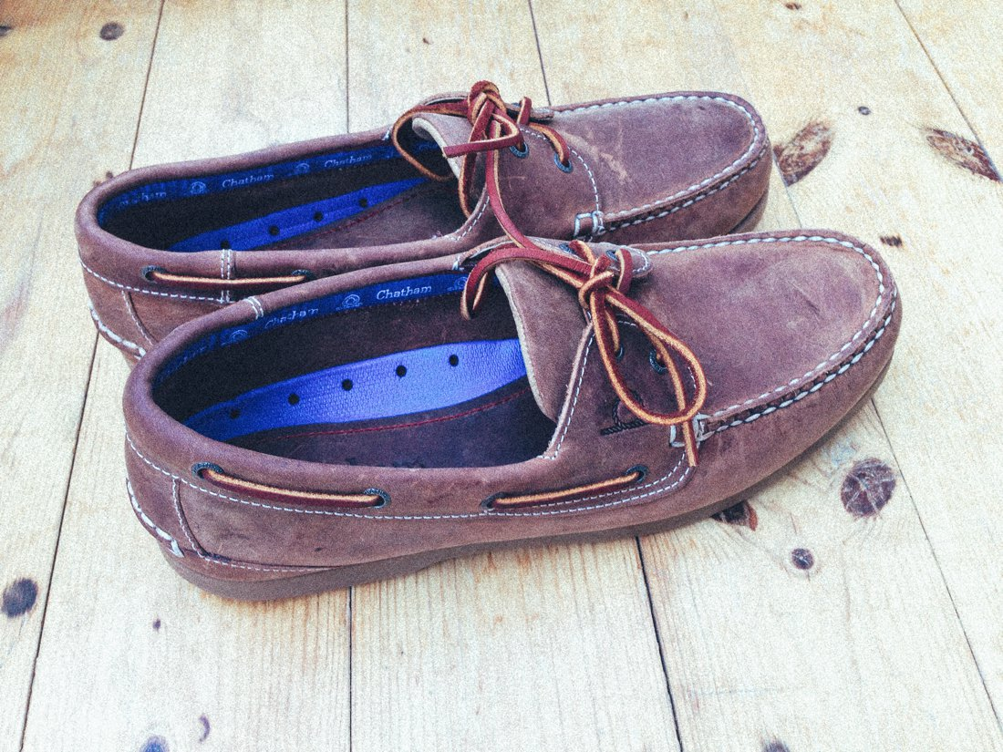Chatham Marine Boat Shoes on Hand Luggage Only (6)