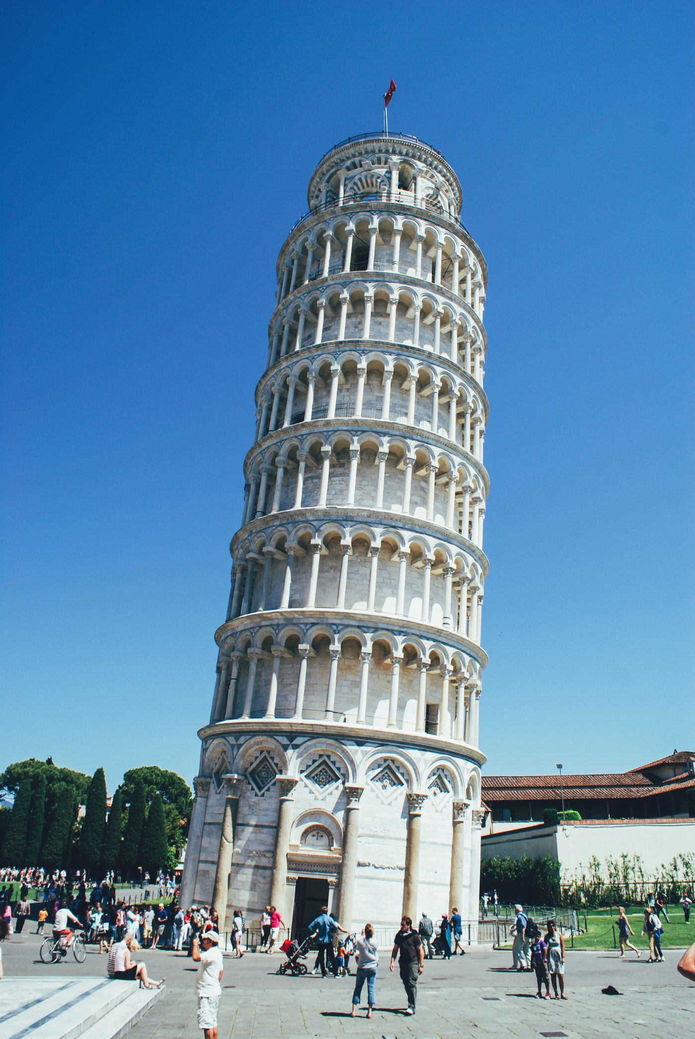 Hopping, Swimming and Leaning in Pisa! Leaning Tower Of Pisa. (12)