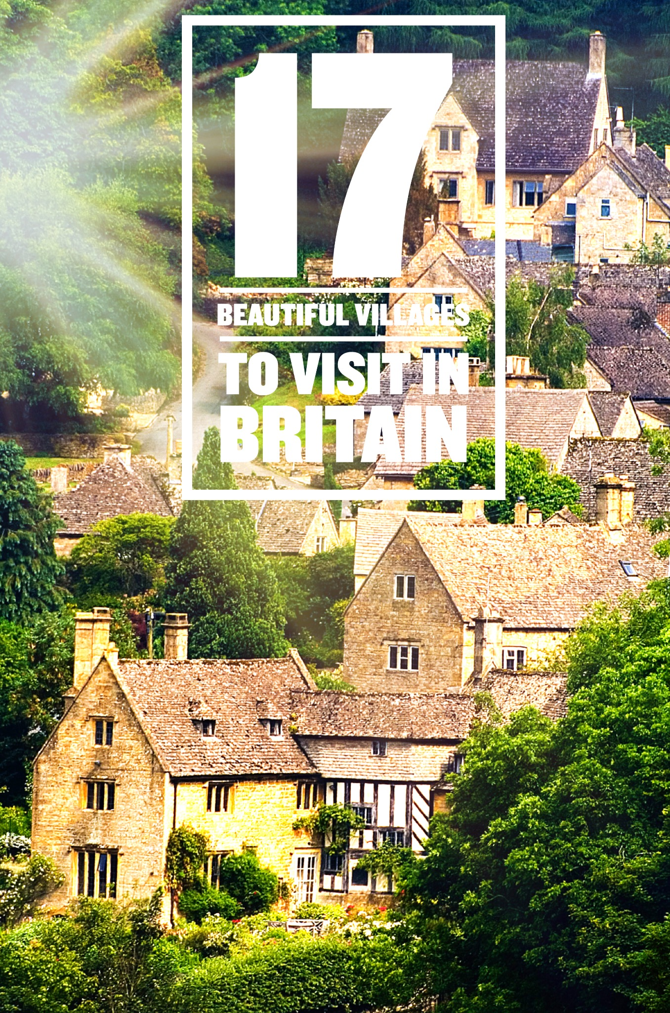 Beautiful villages in Britain