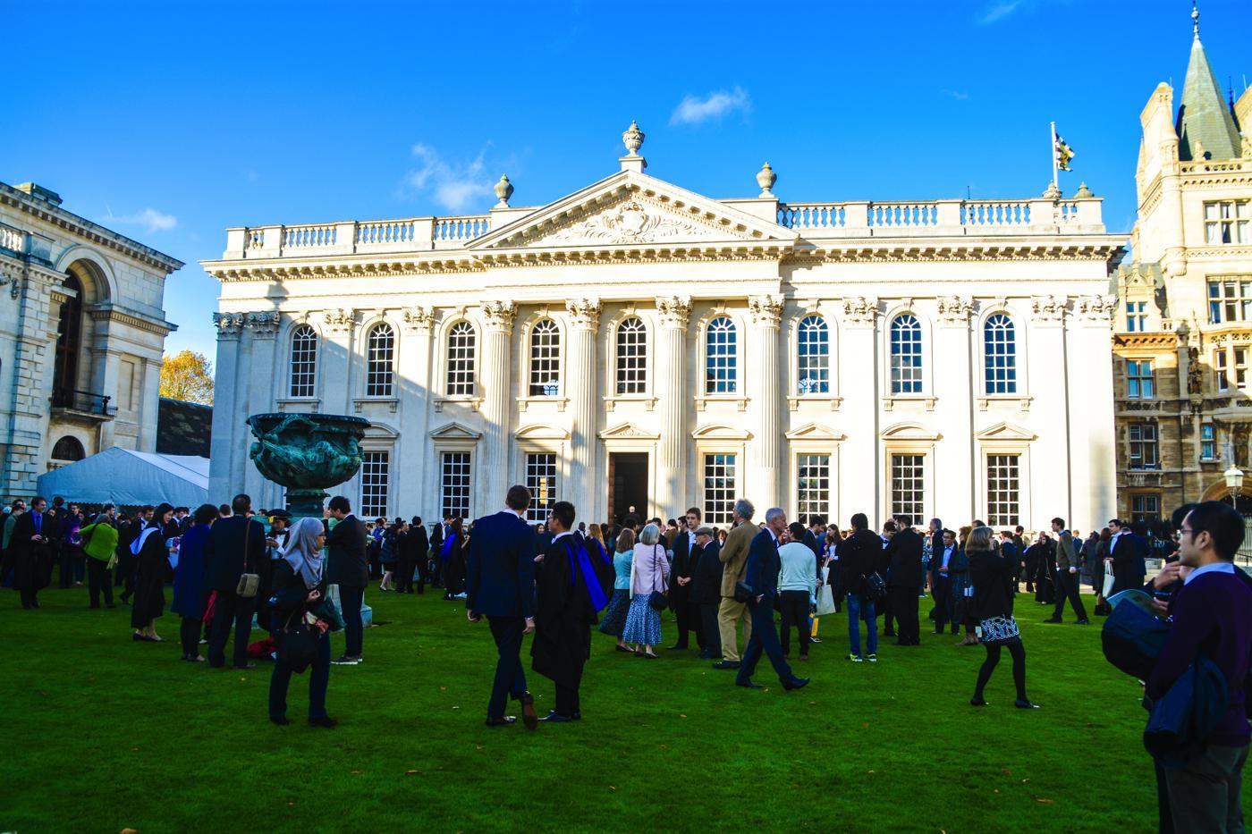 The University of Cambridge, Graduation, Senate House, Cambridge, England (22)