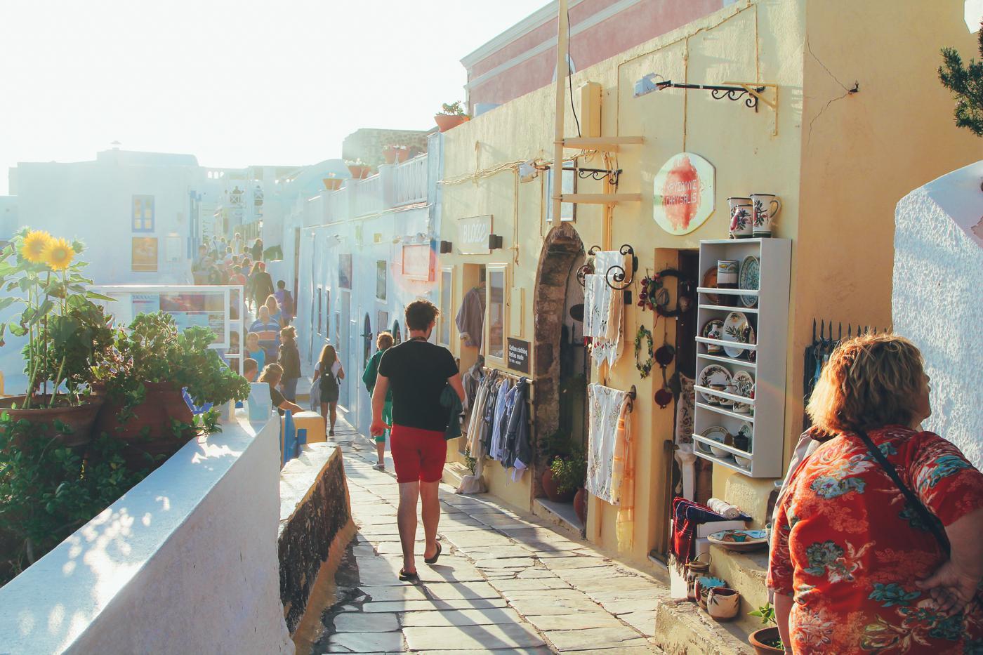 Sunrise To Sunset in Oia and Fira in Santorini, Greece! (17)