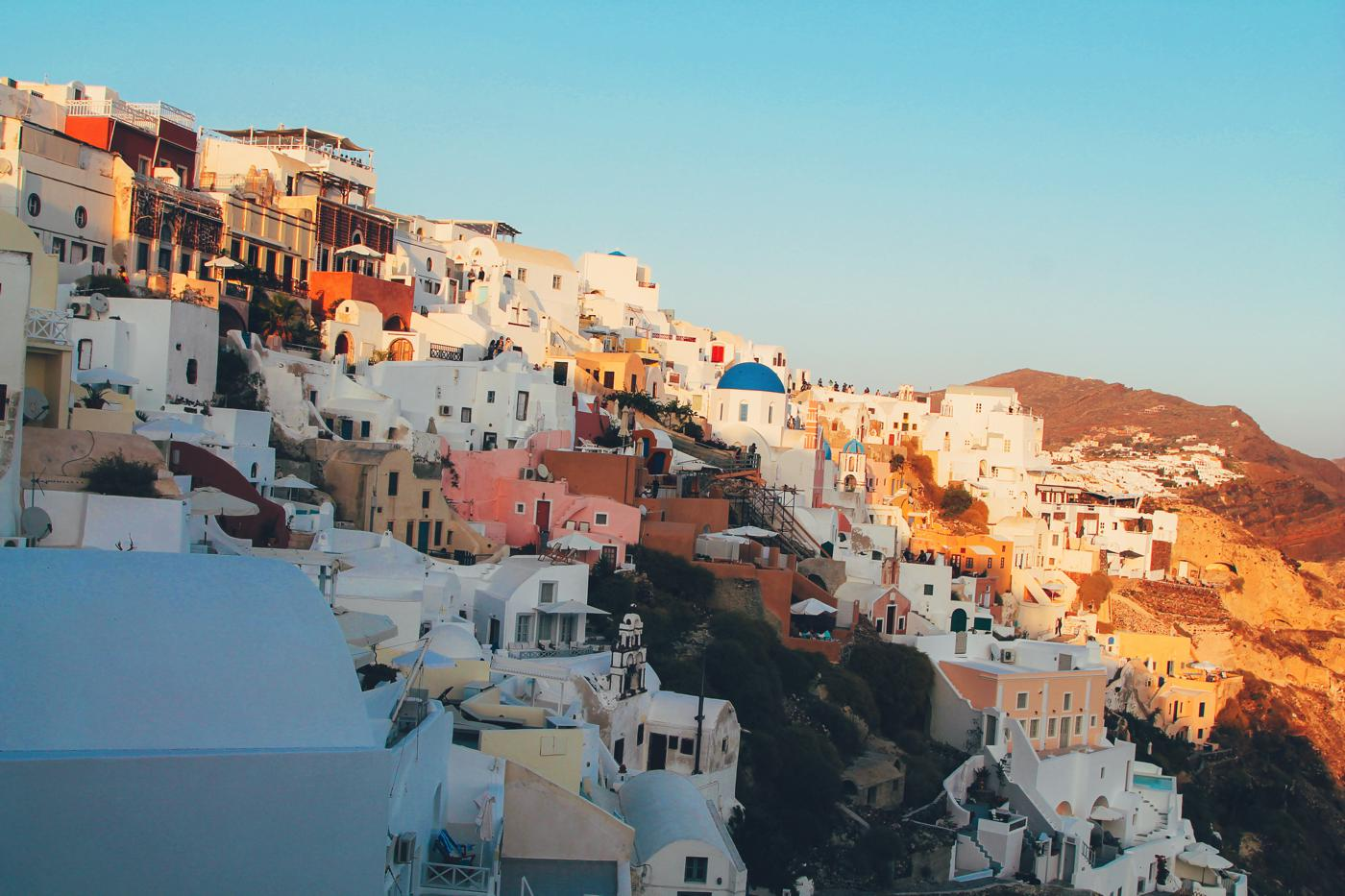 Sunrise To Sunset in Oia and Fira in Santorini, Greece! (19)