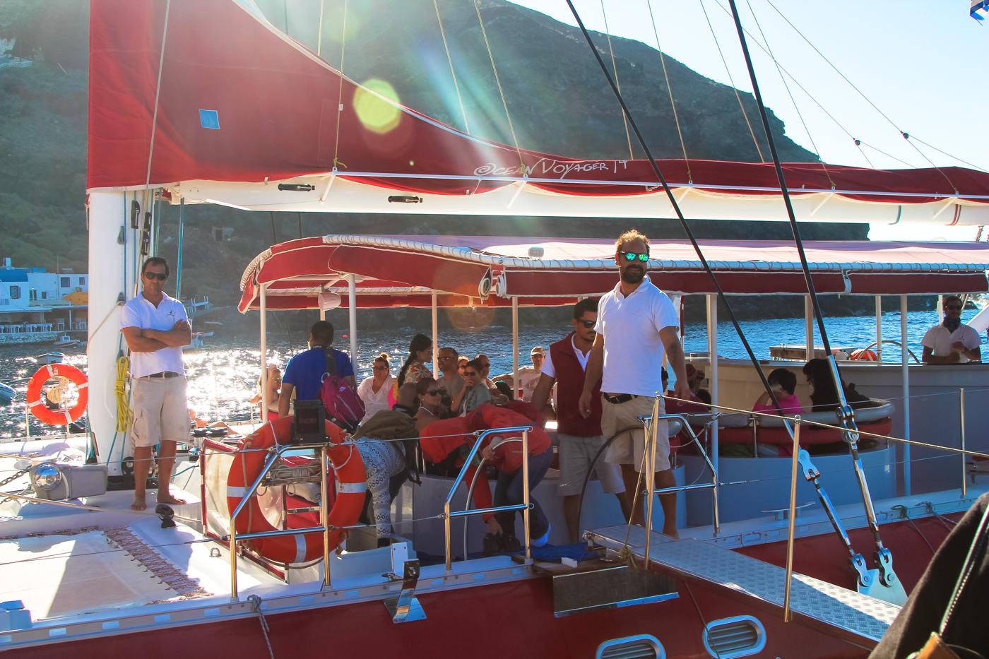 Things To Do When Sailing Around Santorini... (1)