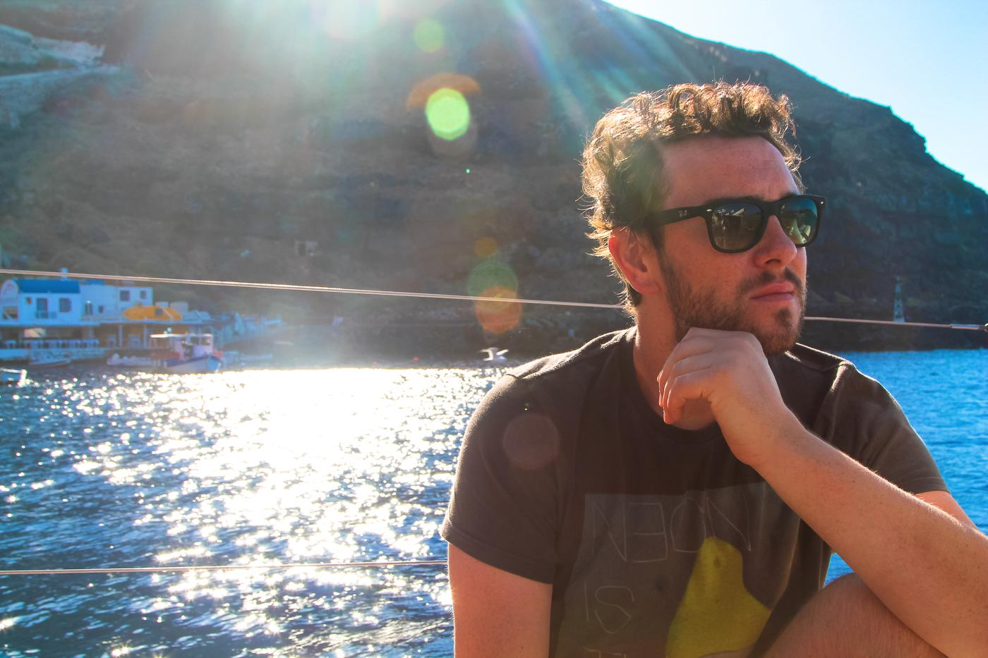 Things To Do When Sailing Around Santorini... (3)