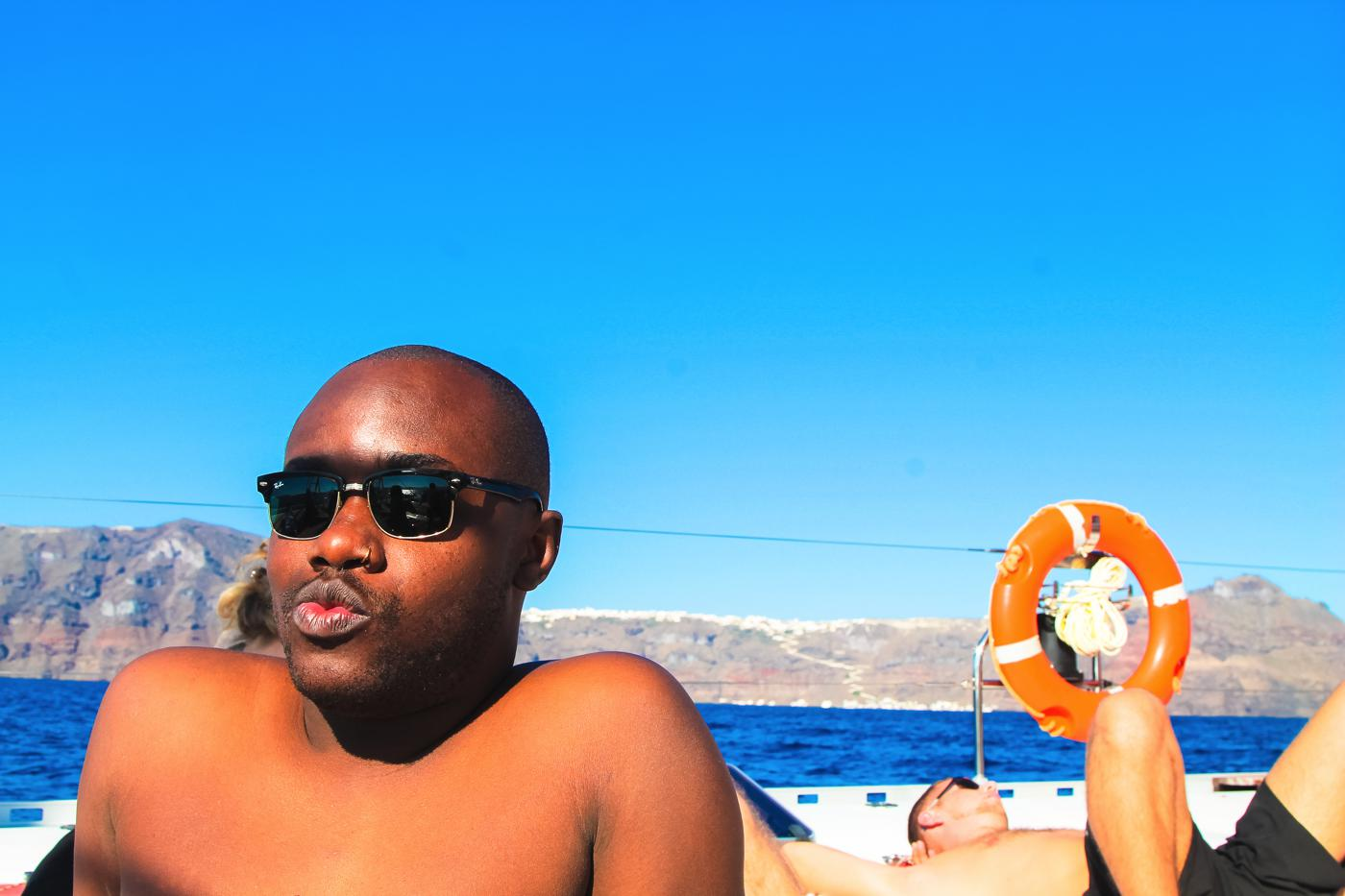 Things To Do When Sailing Around Santorini... (6)