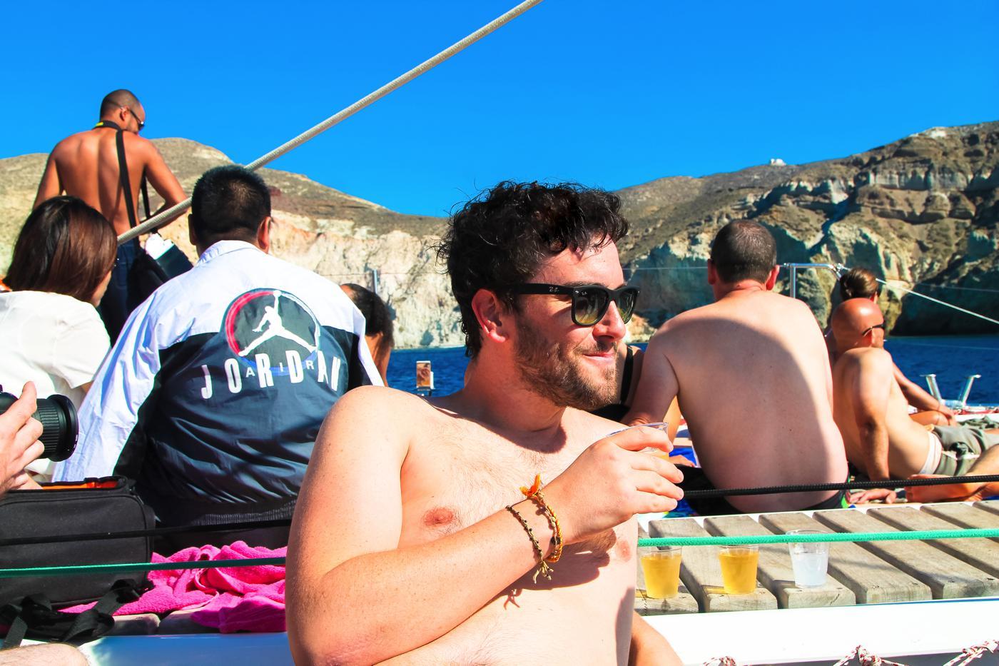 Things To Do When Sailing Around Santorini... (12)