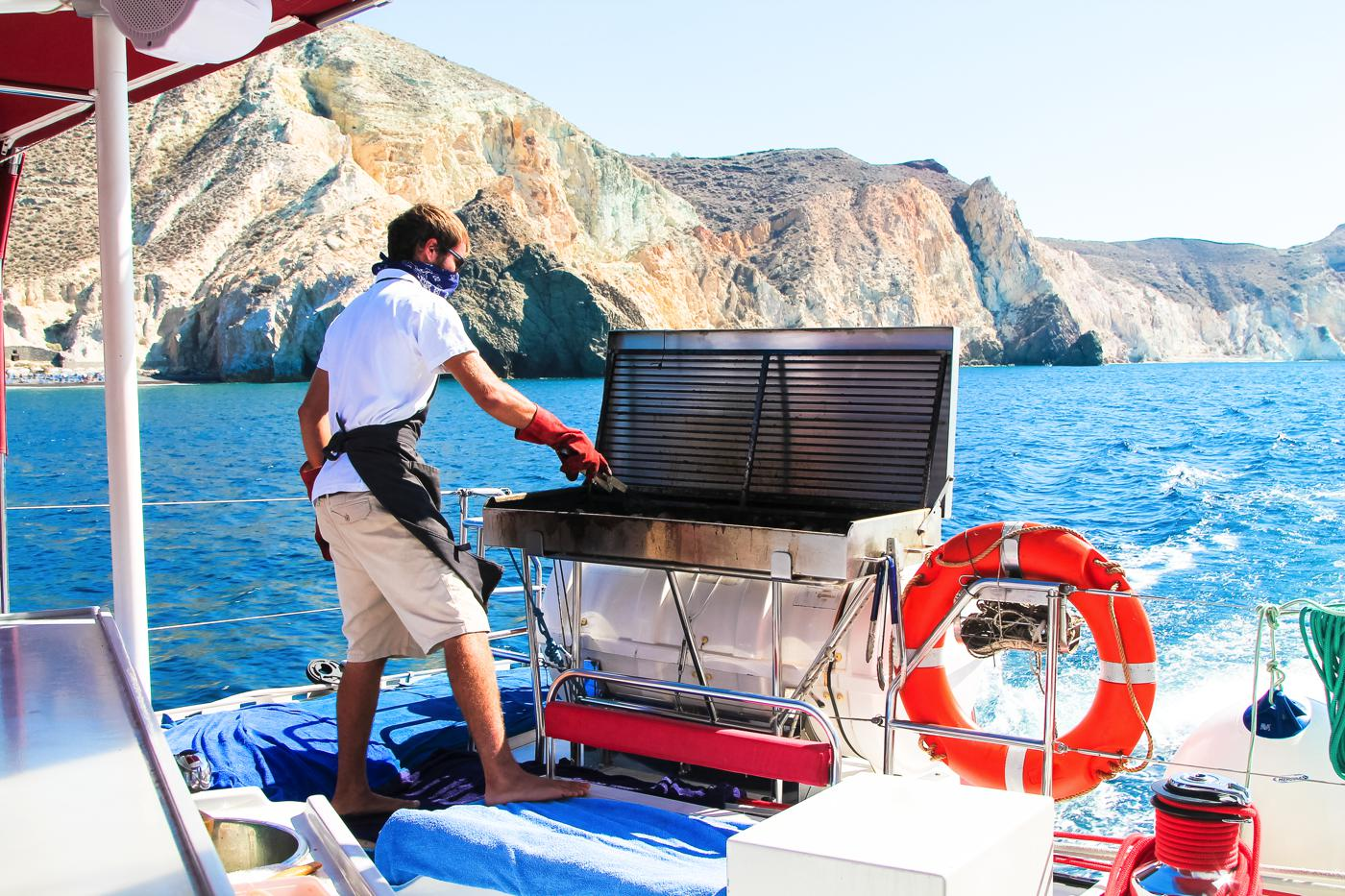 Things To Do When Sailing Around Santorini... (20)