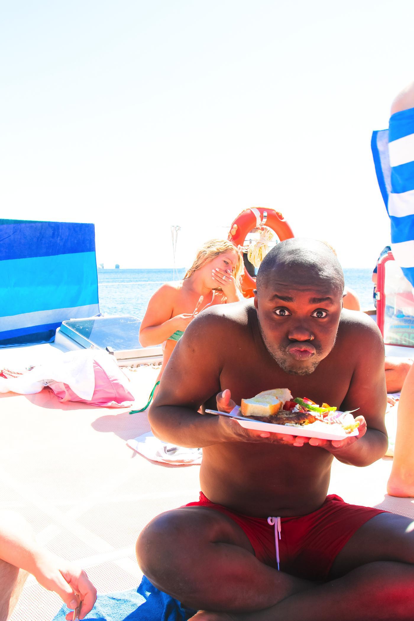 Things To Do When Sailing Around Santorini... (25)