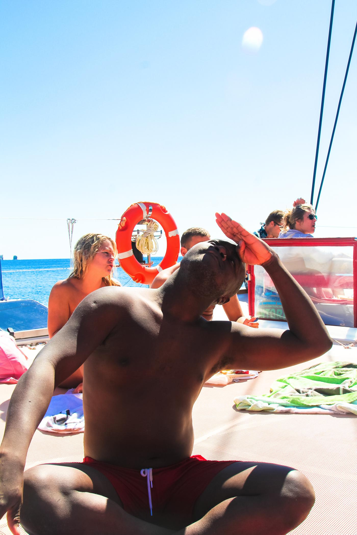 Things To Do When Sailing Around Santorini... (26)