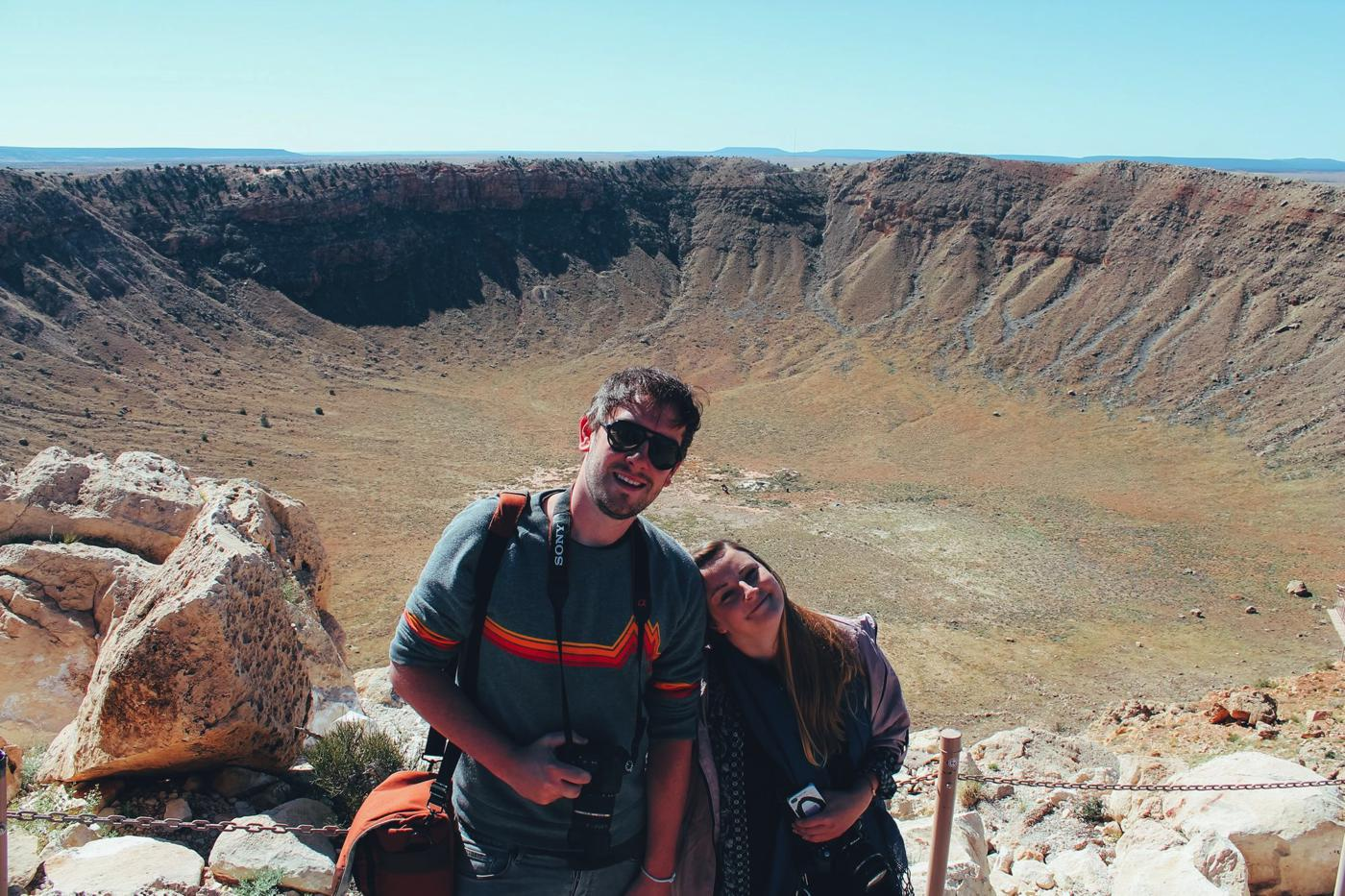 Meteor Crater, Arizona, USA, Travel Blog Hand Luggage Only-0001