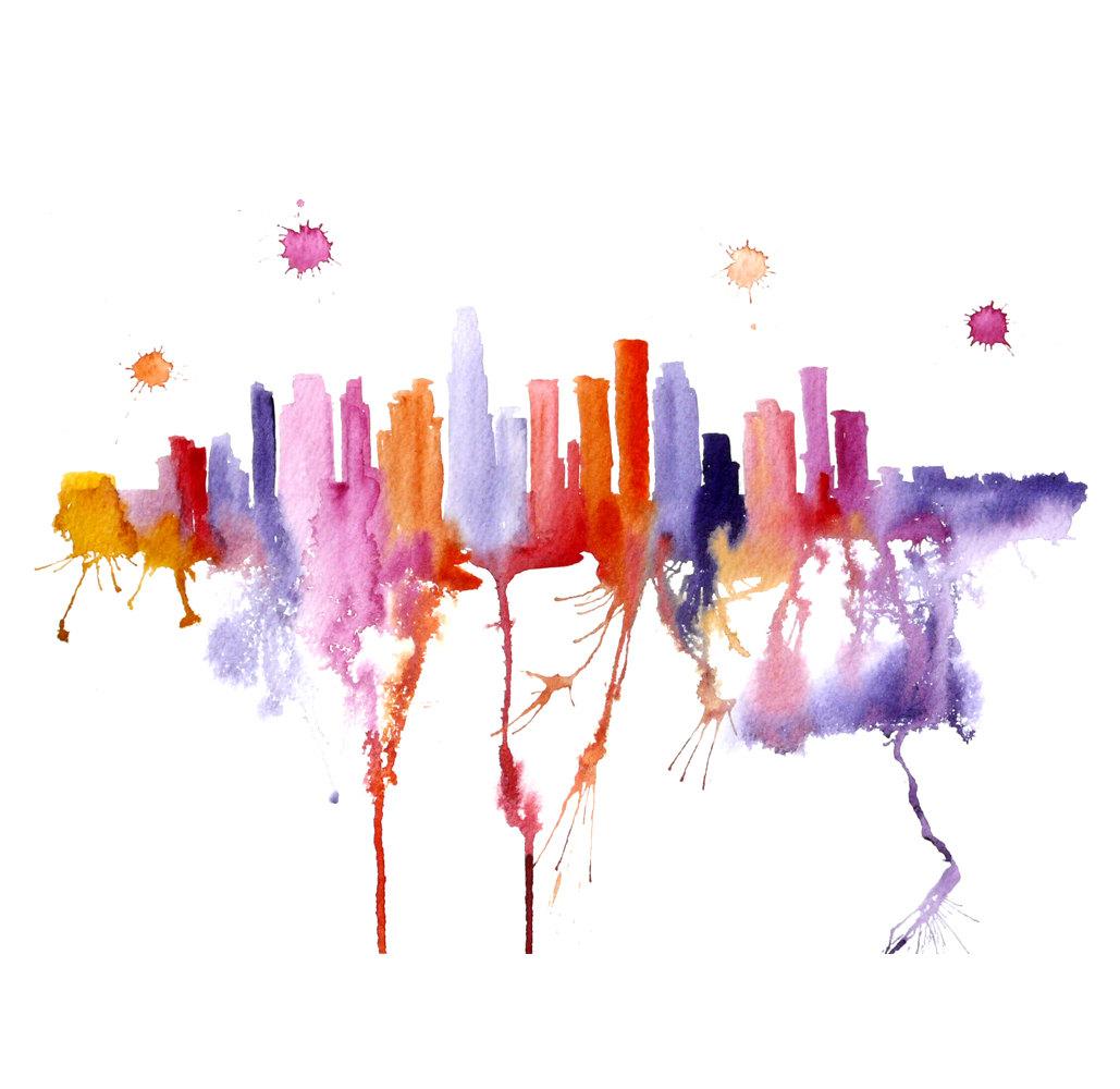 Watercolour Cities by Elena Romanova Artist (8)