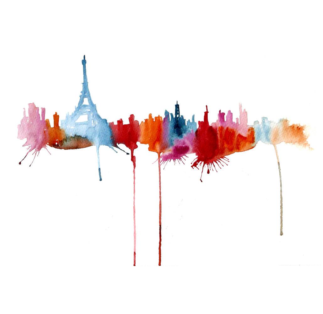 Watercolour Cities by Elena Romanova Artist (10)