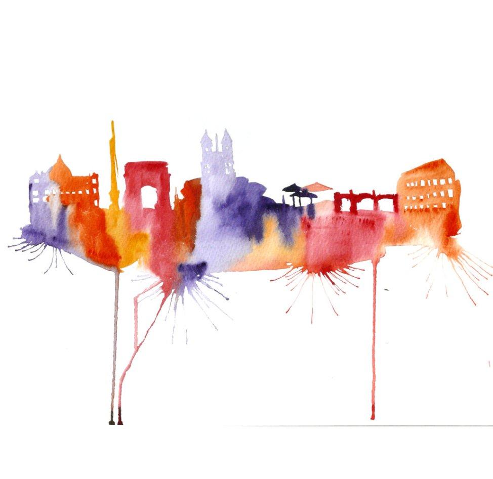 Watercolour Cities by Elena Romanova Artist (21)