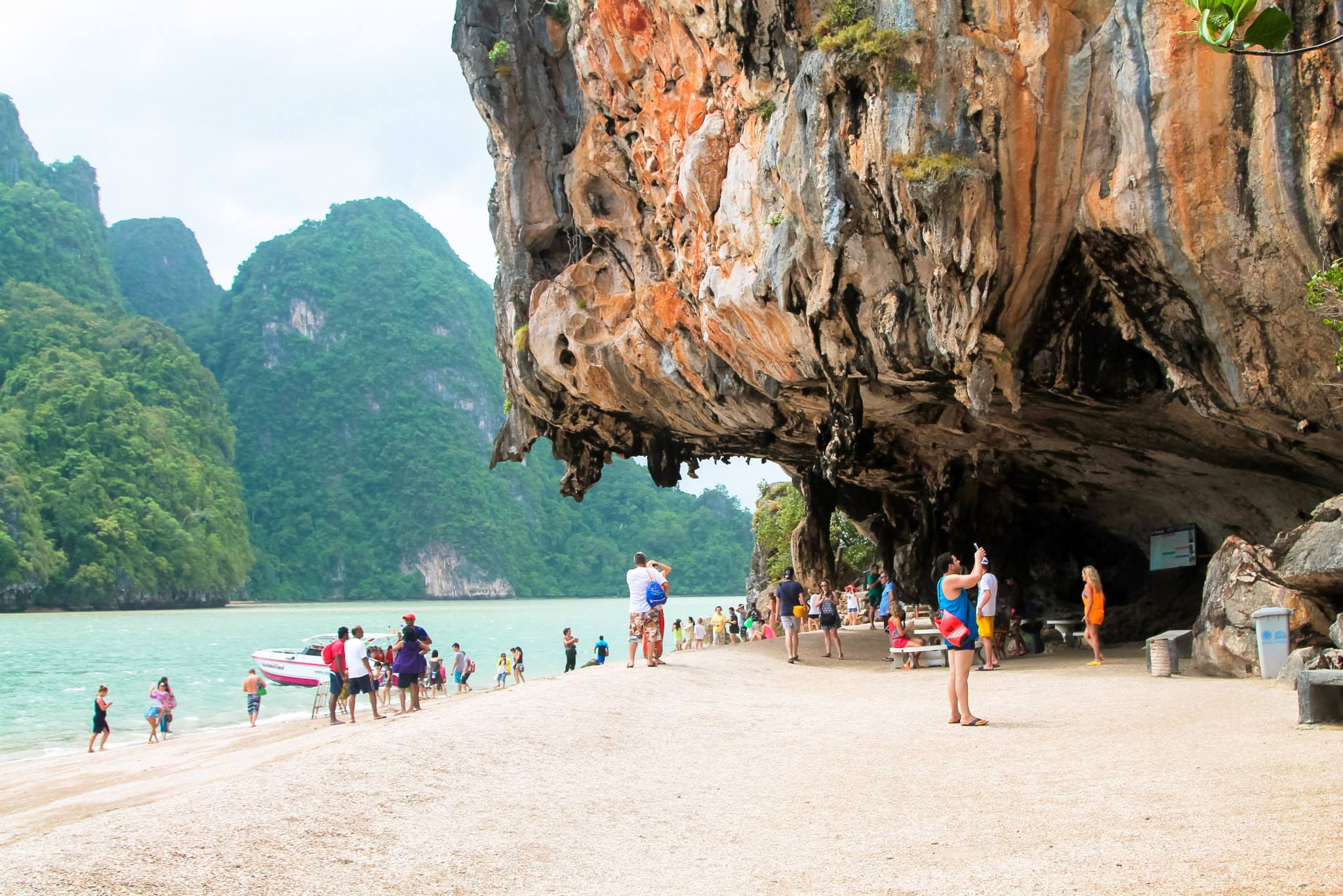 Things To Do When Sailing From Island To Island in Phang Nga Bay, Phuket, Thailand - PART 1 (5)