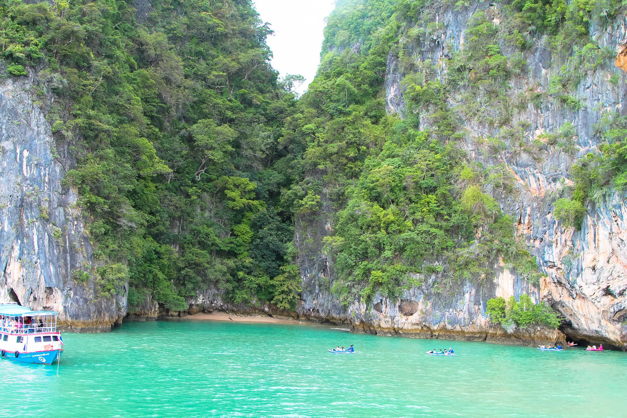 Things To Do When Sailing From Island To Island in Phang Nga Bay, Phuket, Thailand - PART 1 (34)