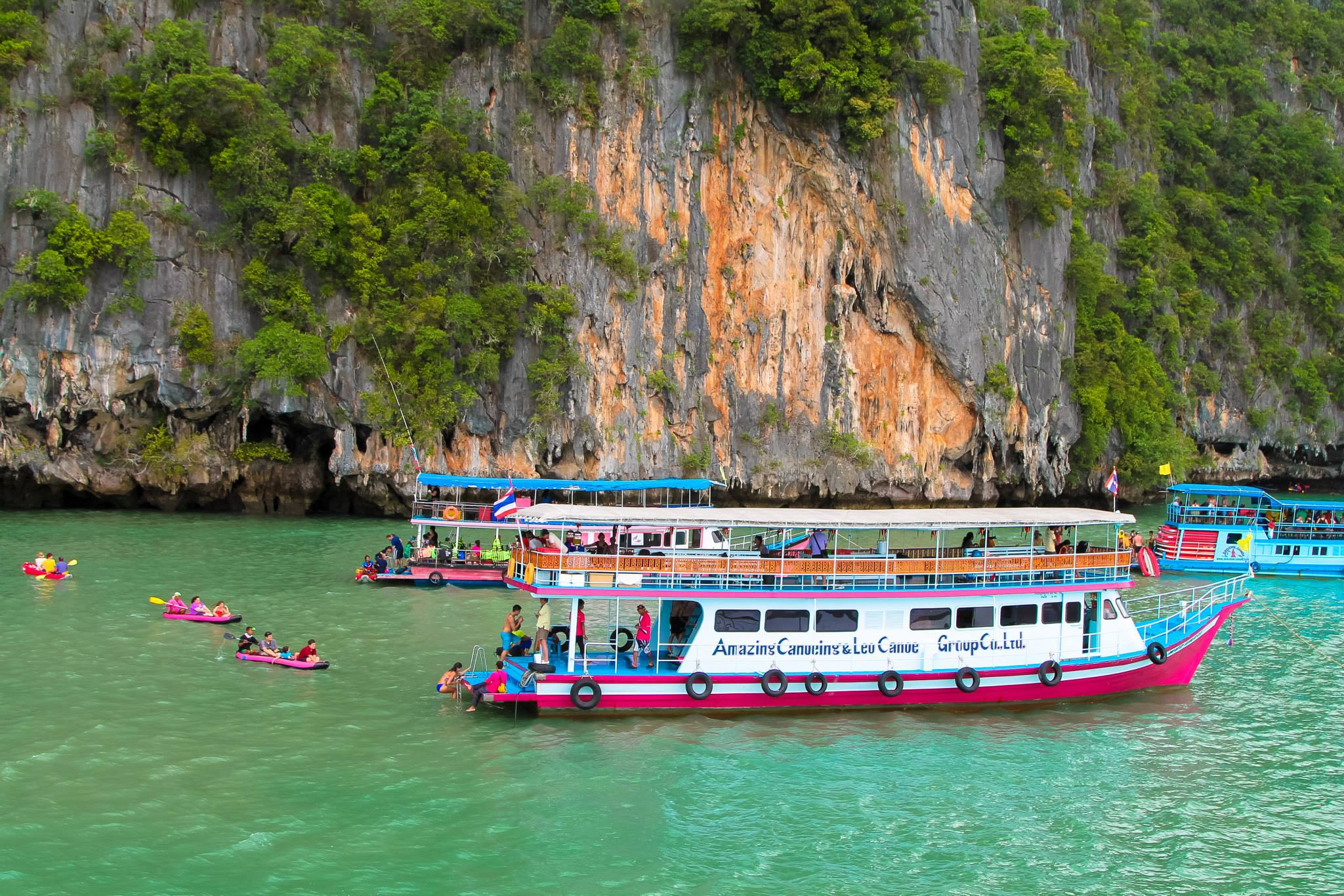 Things To Do When Sailing From Island To Island in Phang Nga Bay, Phuket, Thailand - PART 1 (35)