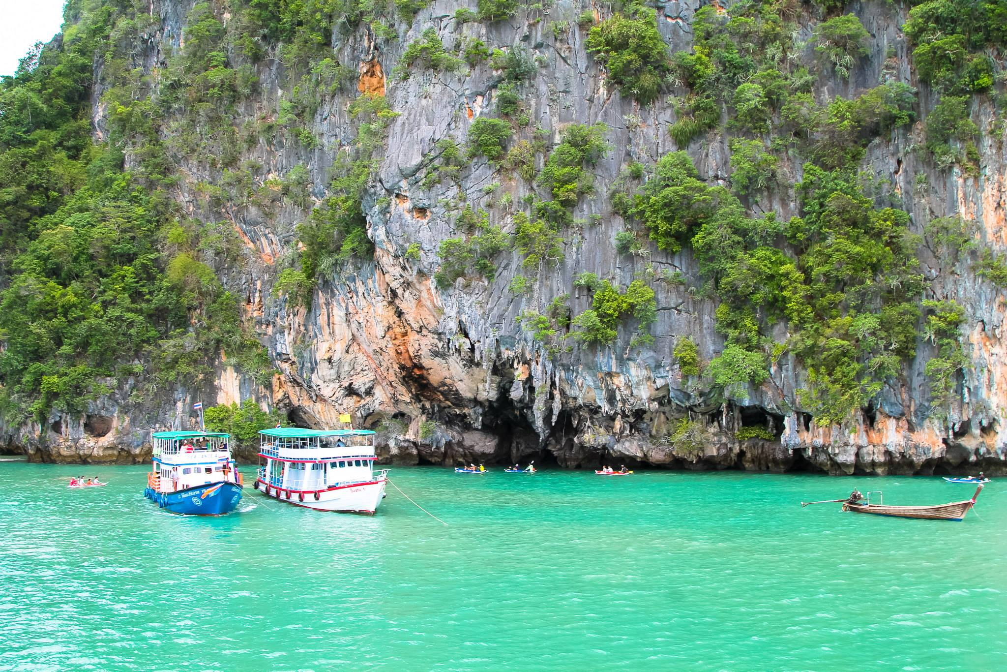 Things To Do When Sailing From Island To Island in Phang Nga Bay, Phuket, Thailand - PART 1 (17)